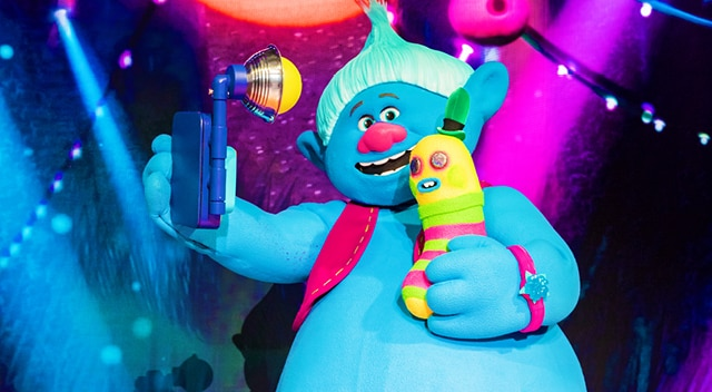 Biggie & Mr. Dinkles  from Trolls LIVE!