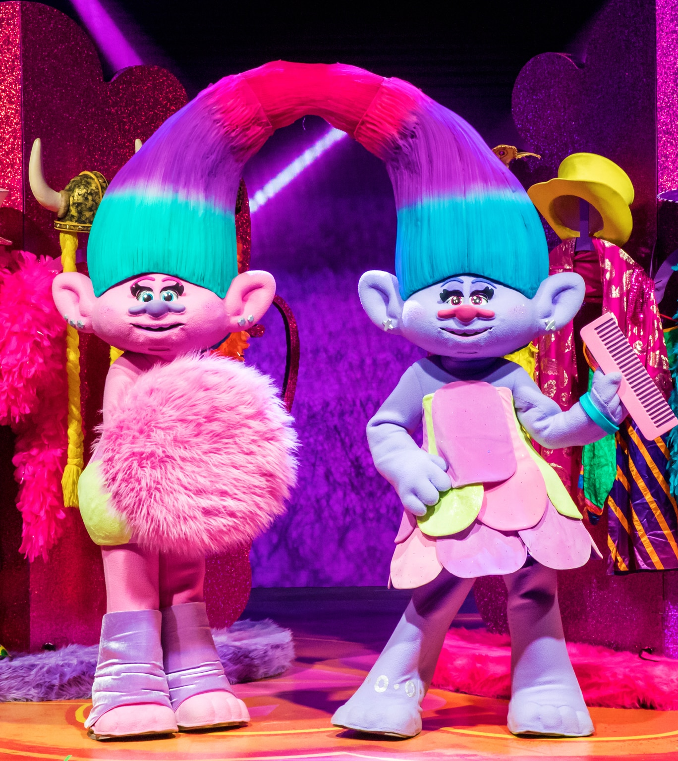 Satin & Chenille  from Trolls LIVE!