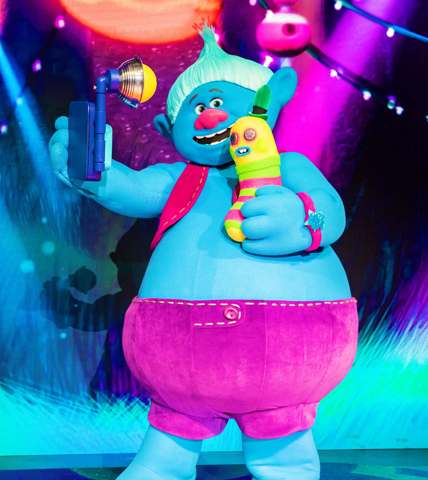 Biggie from Trolls LIVE